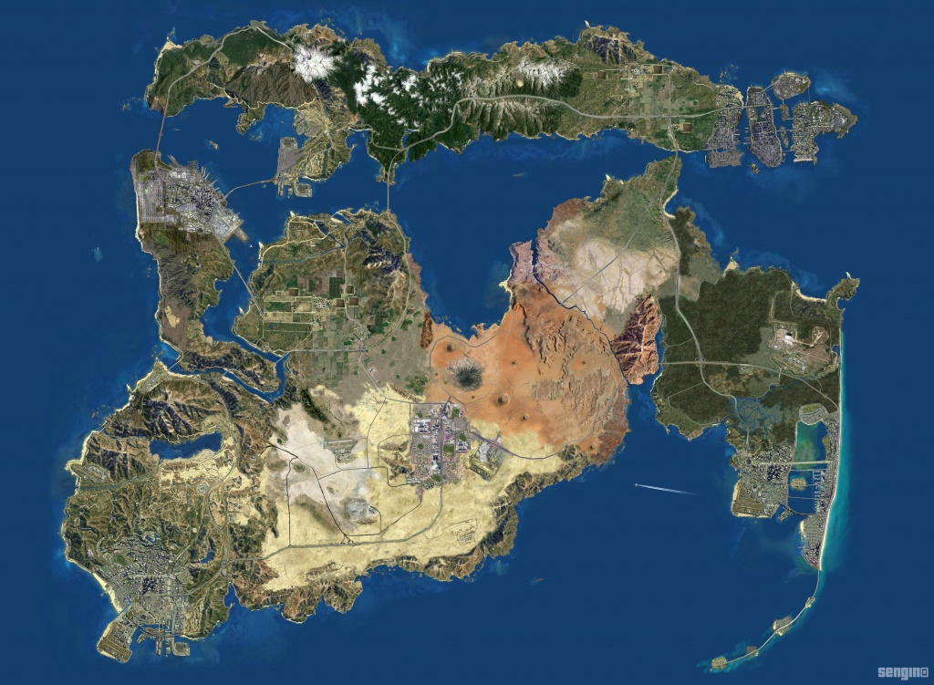 High Resolution Maps: Satellite, Roadmap, Atlas - Guides - Gta 5 Map Printable