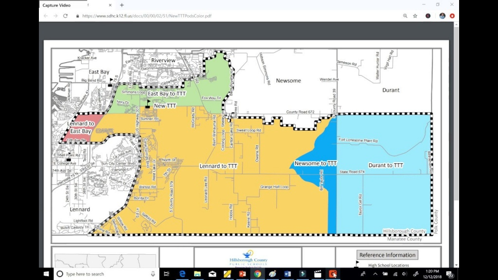 High School Ttt In Riverview, Fl. Riverview's Newest High School - Riverview Florida Map