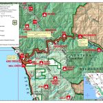 Highway 1 Conditions In Big Sur, California – California Highway 1 Map Pdf