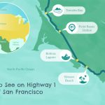 Highway 1 In Northern California   A Drive You'll Love   California Highway 1 Road Trip Map