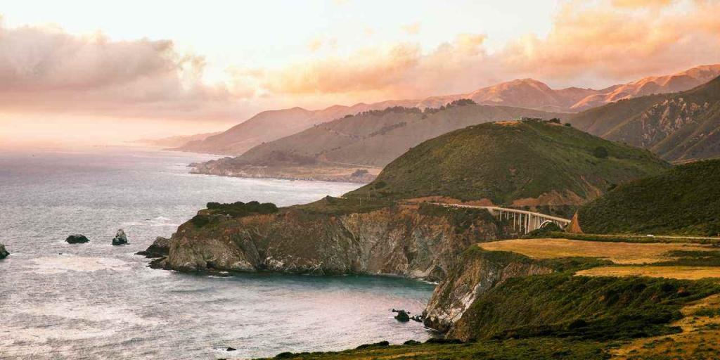 Highway One Classic   Visit California - California Highway 1 Scenic Drive Map