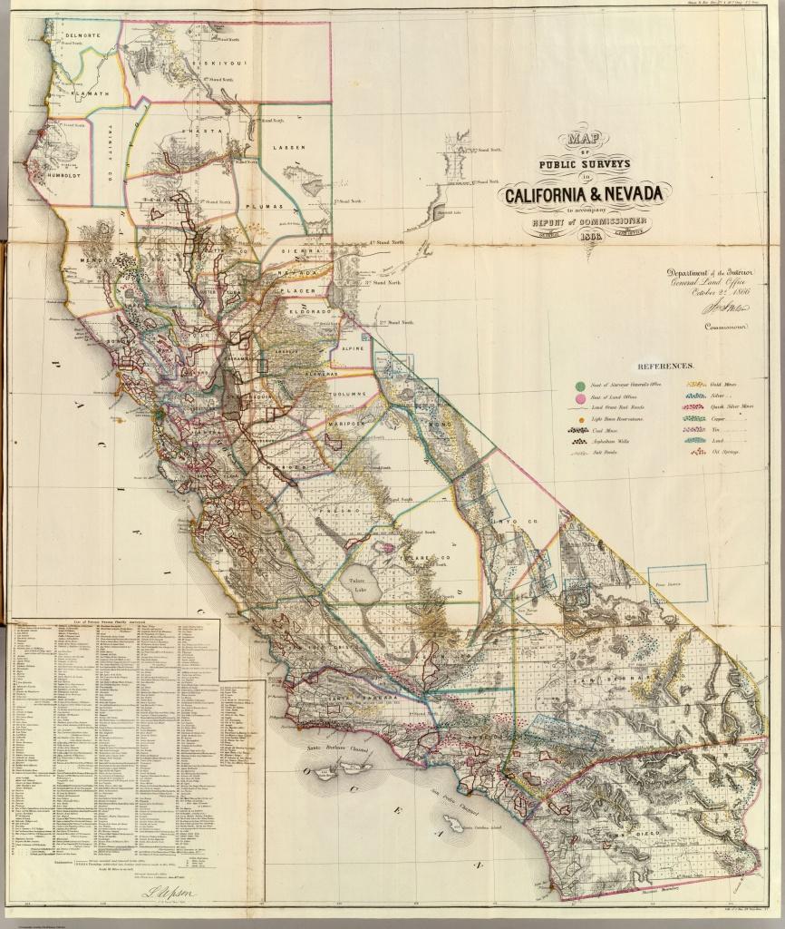 Historic Maps - Spg California Map