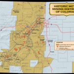 Historic Mining Districts | Colorado Geological Survey   Map Of Abandoned Mines In California