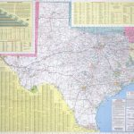 Historic Road Maps   Perry Castañeda Map Collection   Ut Library Online   Rand Mcnally Texas Road Map