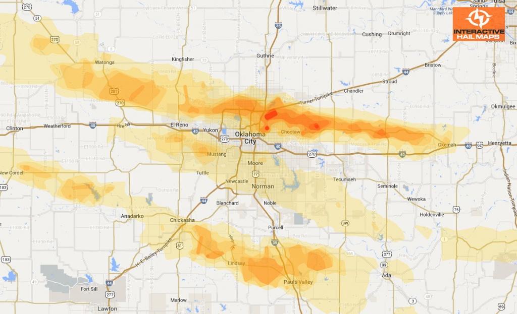 Historical Hail Maps Archives - Interactive Hail Maps - Texas Hail Storm Map