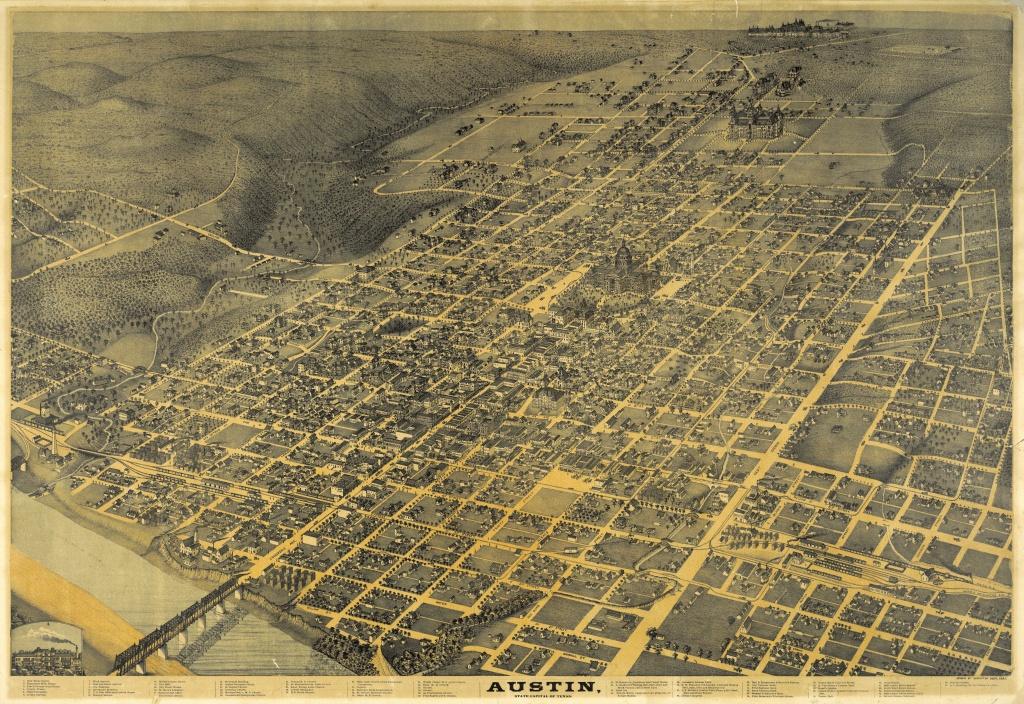 Historical Maps Of Austin « Bryker Woods Neighborhood - Map Store Austin Texas