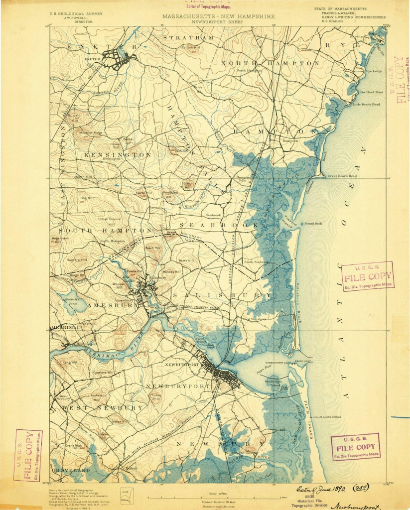 Historical Topographic Maps - Preserving The Past - Usgs Maps California