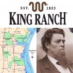 """Historictexasranches On Twitter: """"largest Ranch In Texas (Over 825K   King Ranch Texas Map"""