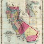 History Of California Travel   Historical Map Of California