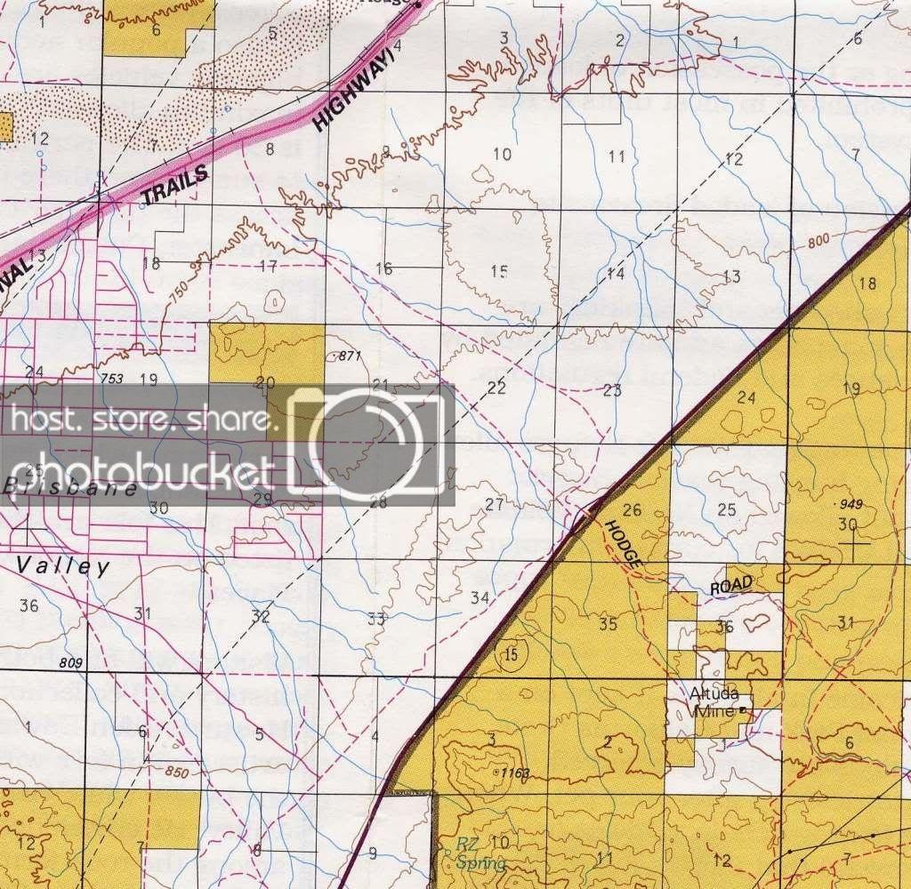 Hodge Rd. Barstow, Blm - Calguns - California Blm Shooting Map