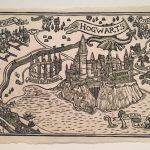 Hogwarts Map Block Print | Etsy – Hogwarts Map Printable