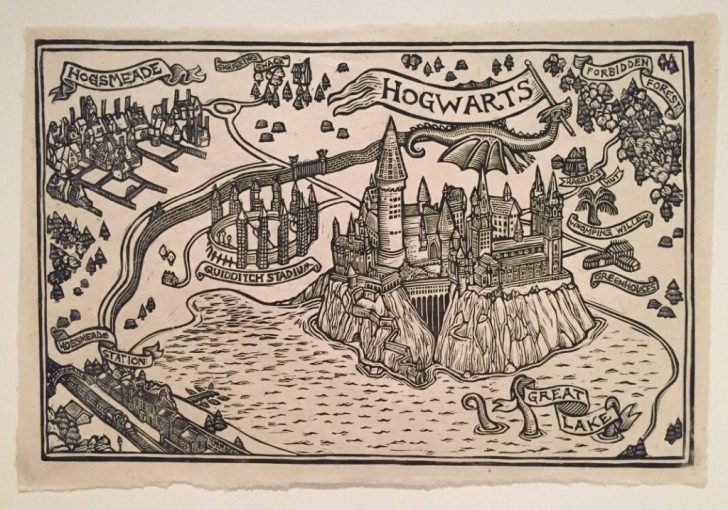 Hogwarts Map Printable