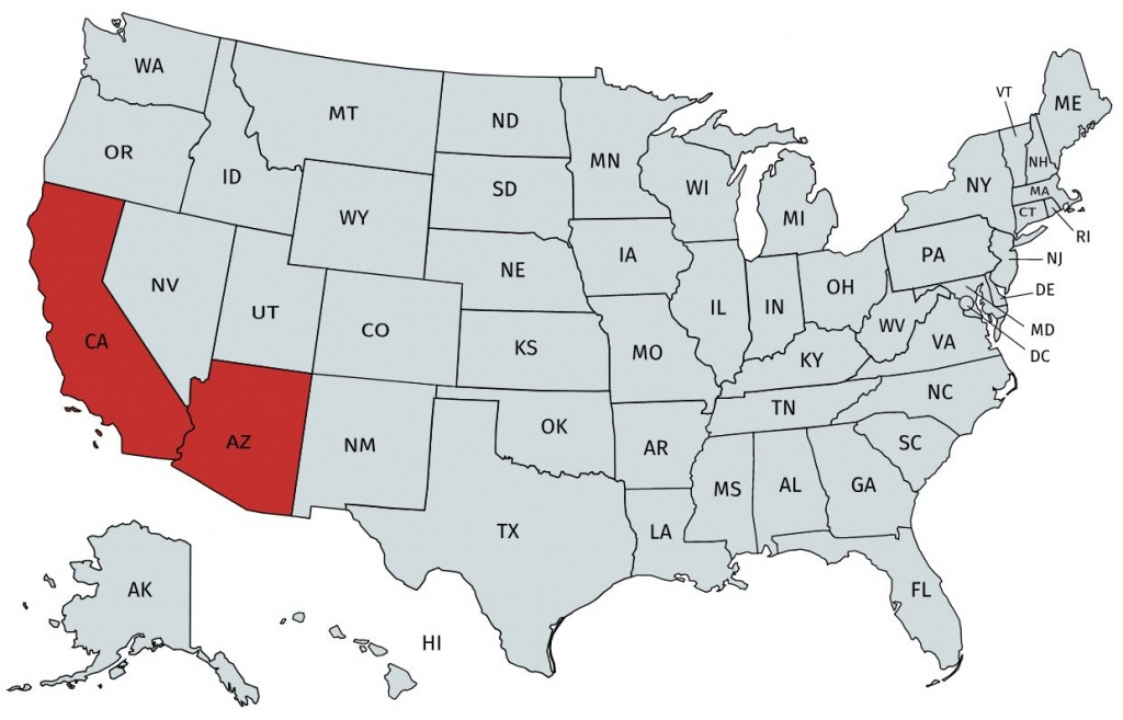 Home Loans In California And Arizona - Usda Home Loan Map California