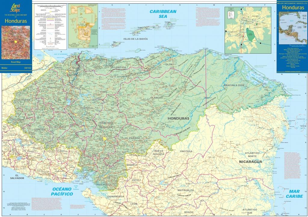 Honduras Maps | Maps Of Honduras - Printable Map Of Honduras