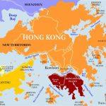 Hong Kong And China Map Printable | Hong Kong Mtr Map, Subway, Metro   Printable Map Of Hong Kong