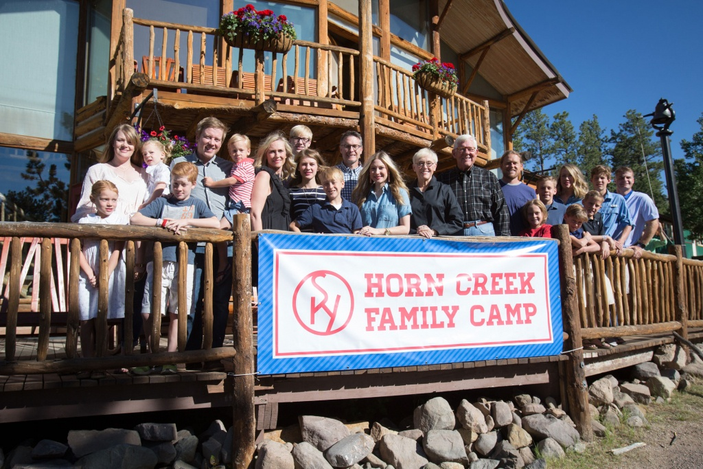Horn Creek Family Camp | Sky Ranch Christian Camps - Sky Ranch Texas Map