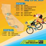 Host City Overview   Amgen Tour Of California   Tour Of California 2018 Map