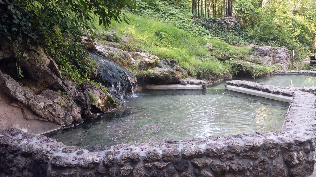 Hot Springs National Park - Wikipedia - Natural Hot Springs California Map