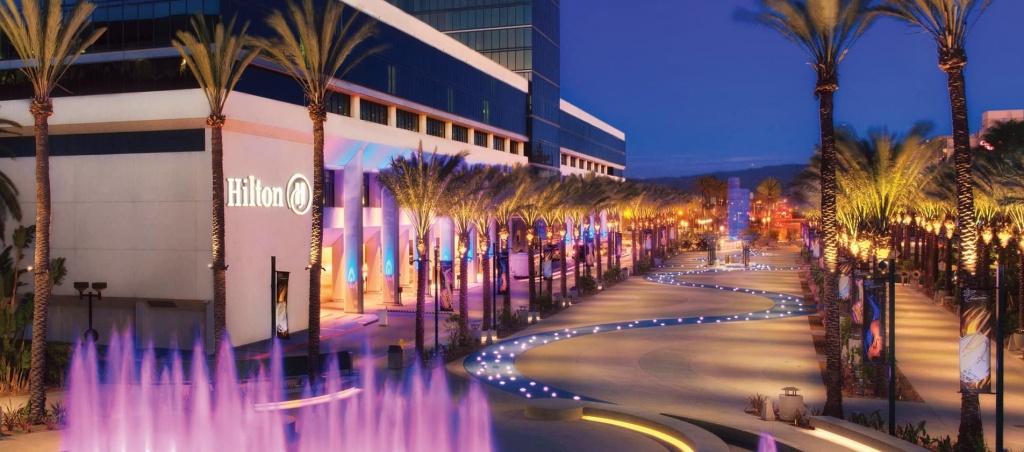 Hotels In Anaheim - Hilton Anaheim - Map Of Hilton Hotels In California