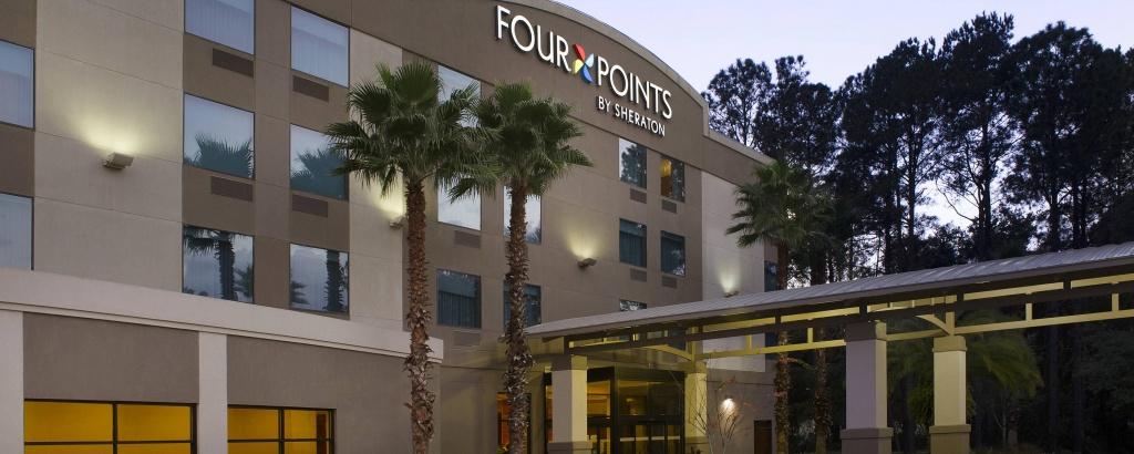 Hotels In Jacksonville, Fl   Four Pointssheraton Jacksonville - Map Of Hotels In Jacksonville Florida