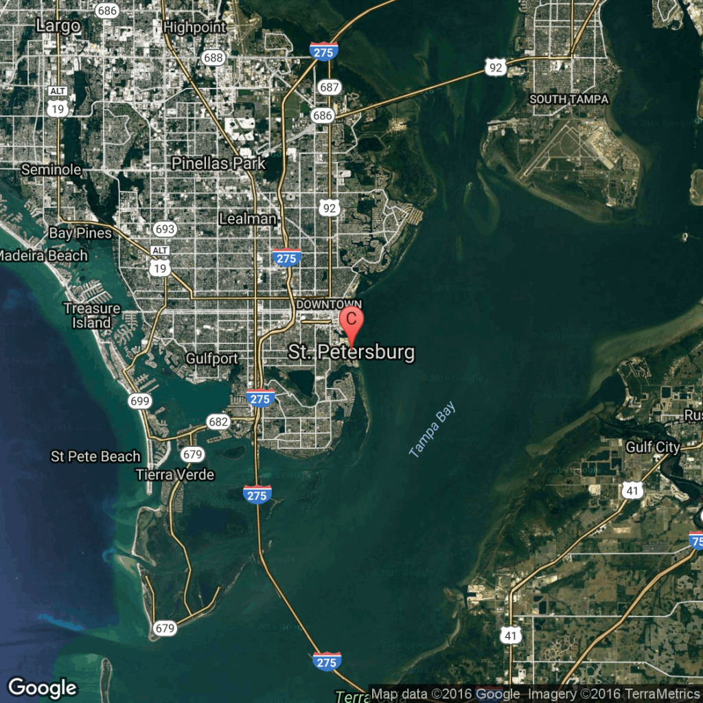Hotels Near I-275 In St. Petersburg, Florida | Usa Today - Map Of Hotels On St Pete Beach Florida