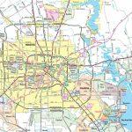 Houston Area Road Map   Houston Texas Map