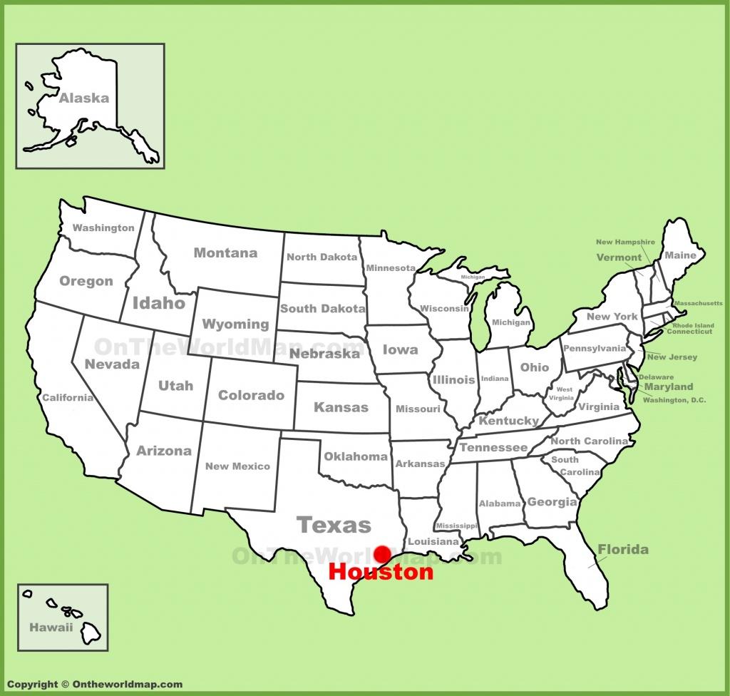 Houston Maps   Texas, U.s.   Maps Of Houston - Houston Texas Map