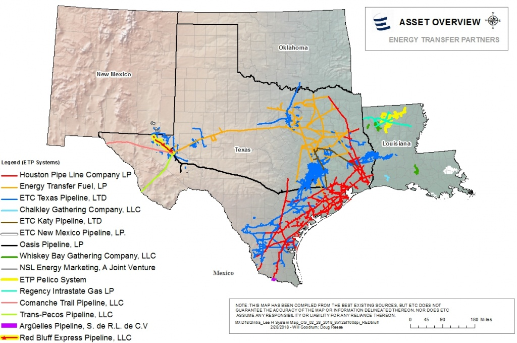 Houston Pipe Line Company Lp - Texas Pipeline Map