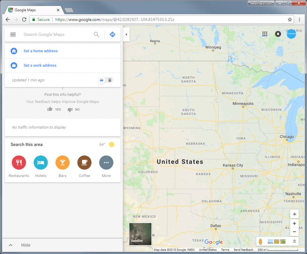 How To Add Multiple Markers On Google Maps • Nearplace - Make A Printable Map With Multiple Locations