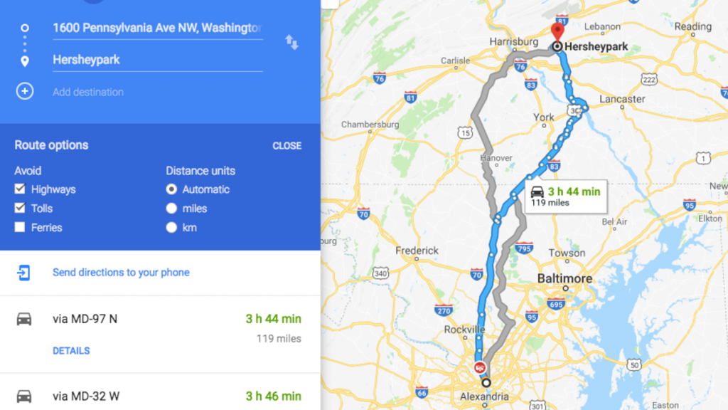 How To Avoid Tolls And Highways On Google Maps, Apple Maps And Waze - Google Maps Driving Directions Texas