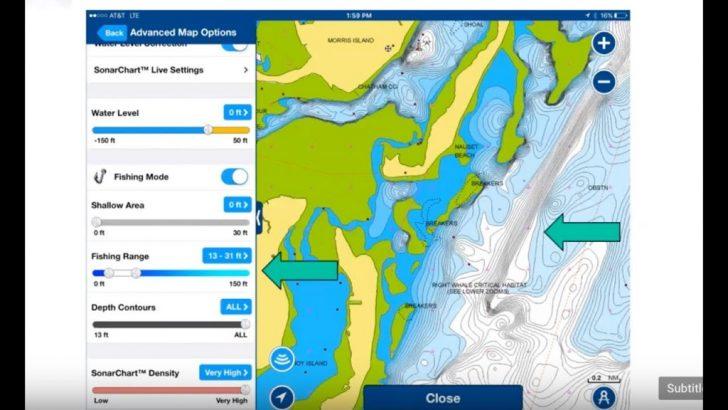 Texas Fishing Hot Spots Maps