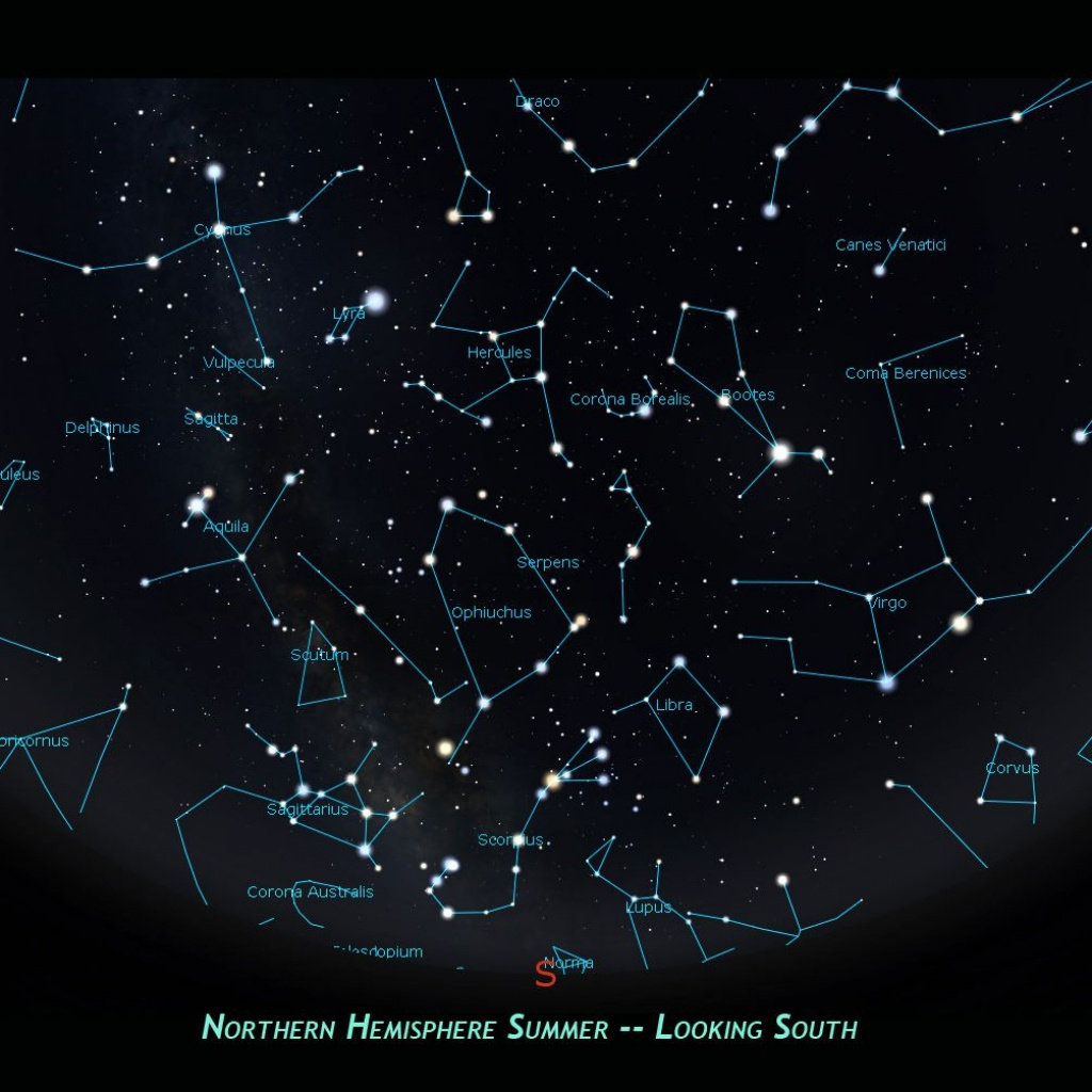 How To Find The Libra Constellation In The Night Sky - Florida Night Sky Map