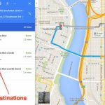 How To Get Driving Directions And More From Google Maps   Free Printable Maps Driving Directions