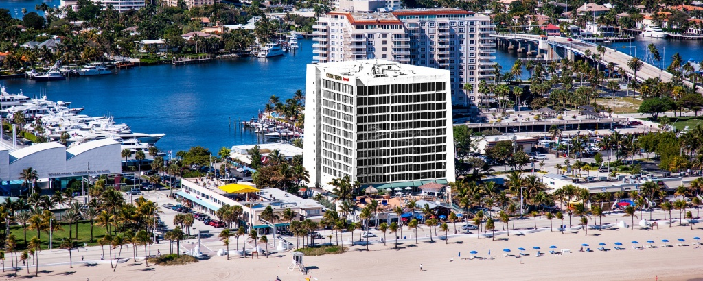 How To Get To Courtyard Fort Lauderdale Beach | Map Of Fort Lauderdale - Map Of Hotels In Fort Lauderdale Florida