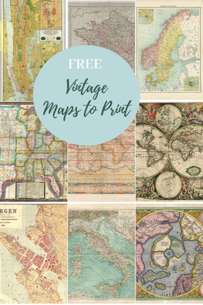 How To Make A Map Table An Ikea Hack   Maps   Map, Picture Boxes - How To Make A Printable Map