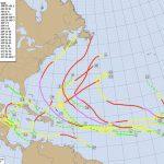 How To Use A Hurricane Tracking Chart   Printable Hurricane Tracking Map 2016