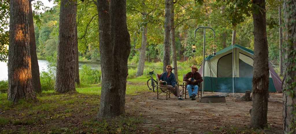 Huntsville State Park — Texas Parks & Wildlife Department - Texas State Campgrounds Map