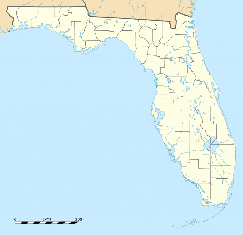 Hurlburt Field - Wikipedia - Where Is Fort Walton Beach Florida On The Map
