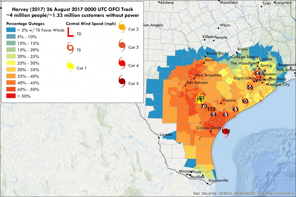 Hurricane Harvey Power Outages |Vehicle To Grid Uk - Power Outage Map Texas