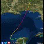 Hurricane Opal   October 4, 1995   Printable Hurricane Tracking Map 2016