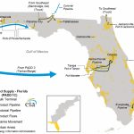 Hurricanes Harvey And Irma Lead To Higher Gasoline Prices In Florida   Florida Gas Pipeline Map