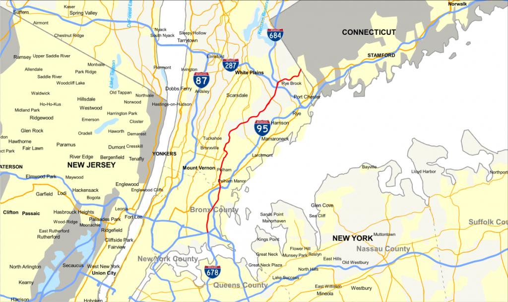 Hutchinson River Parkway - Wikipedia - Hutchinson Florida Map