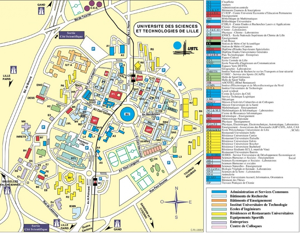 Icare Data And Services Center | Icare Data And Services Center - Printable Map Of Lille City Centre
