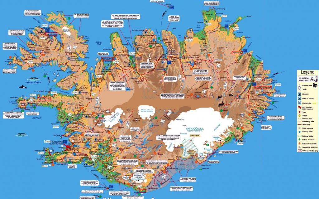 Iceland Maps | Printable Maps Of Iceland For Download - Free Printable Map Of Iceland