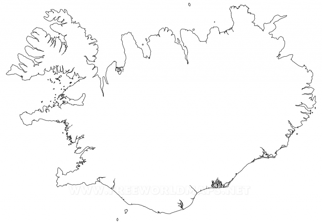 Iceland Political Map - Free Printable Map Of Iceland