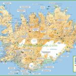 Iceland Tourist Map - Printable Map Of Iceland