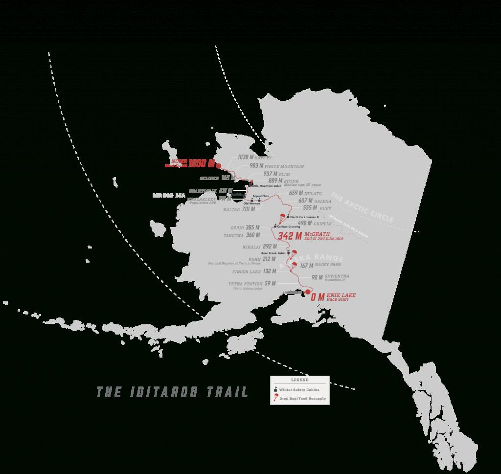 Iditarod Trail Map Related Keywords & Suggestions - Iditarod Trail - Printable Iditarod Trail Map