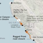 Image Result For How Do You Get To Pfeiffer Beach With The Road - California Highway 1 Closure Map