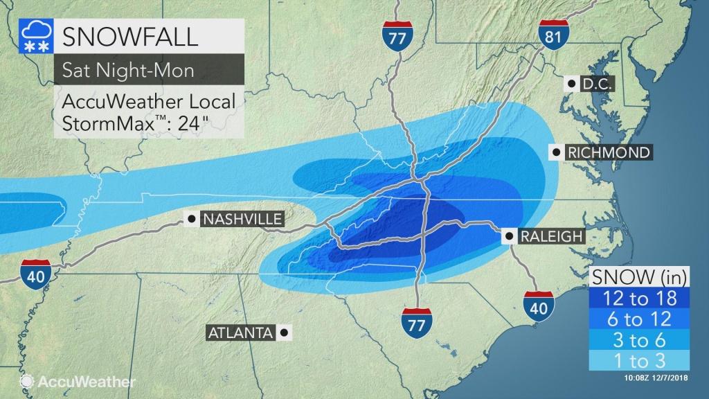 Immobilizing Storm To Bury Carolinas, Southern Virginia In Snow And Ice - Miami Florida Radar Map