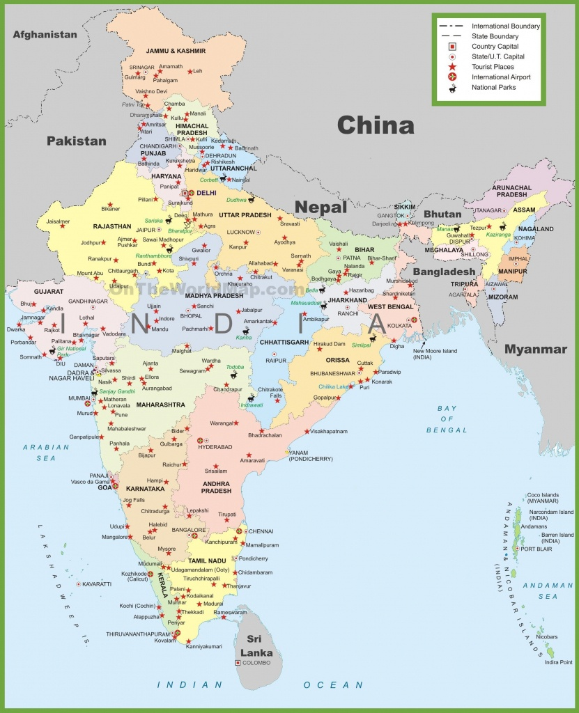 India Maps | Maps Of India - Printable Map Of India